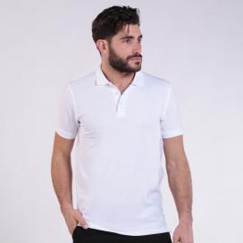 T-shirt 2200 Pique Knit Polo Cotton 190 Gsm Regular Fit White