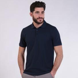 T-shirt 2200 Pique Knit Polo Cotton 190 Gsm Regular Fit Navy