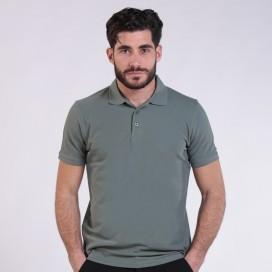 T-shirt 2200 Pique Knit Polo Cotton 190 Gsm Regular Fit Khaki
