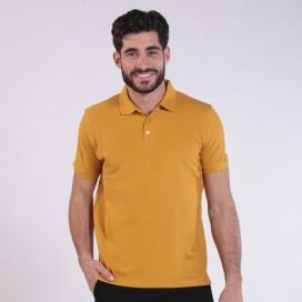 T-shirt 2200 Pique Knit Polo Cotton 190 Gsm Regular Fit Camel