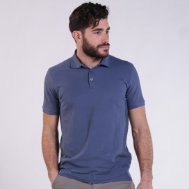 T-shirt 2200 Pique Knit Polo Cotton 190 Gsm Regular Fit Indigo