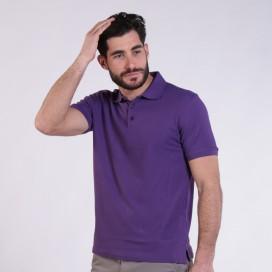 T-shirt 2200 Pique Knit Polo Cotton 190 Gsm Regular Fit Purple