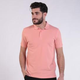 T-shirt 2200 Pique Knit Polo Cotton 190 Gsm Regular Fit Salmon