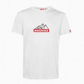 T-Shirt 'Mountain' 43045 Organic Cotton 150 Gsm Regular Fit White