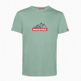 T-Shirt 'Mountain' 43045 Organic Cotton 150 Gsm Regular Fit Sage