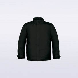 Jacket Real 970 Winter Parka Heavy Weight Polyester Black