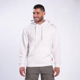 Blouse Hoodie 3301 MLC Cotton Blend 280 Gsm Regular Fit White