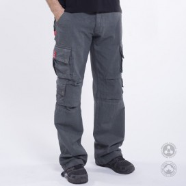 Pants MLC Smooth Canvas Pencil Grey 100% cotton