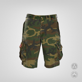 Βερμούδα MLC 45020 Camo Canvas Zipper Regular Fit